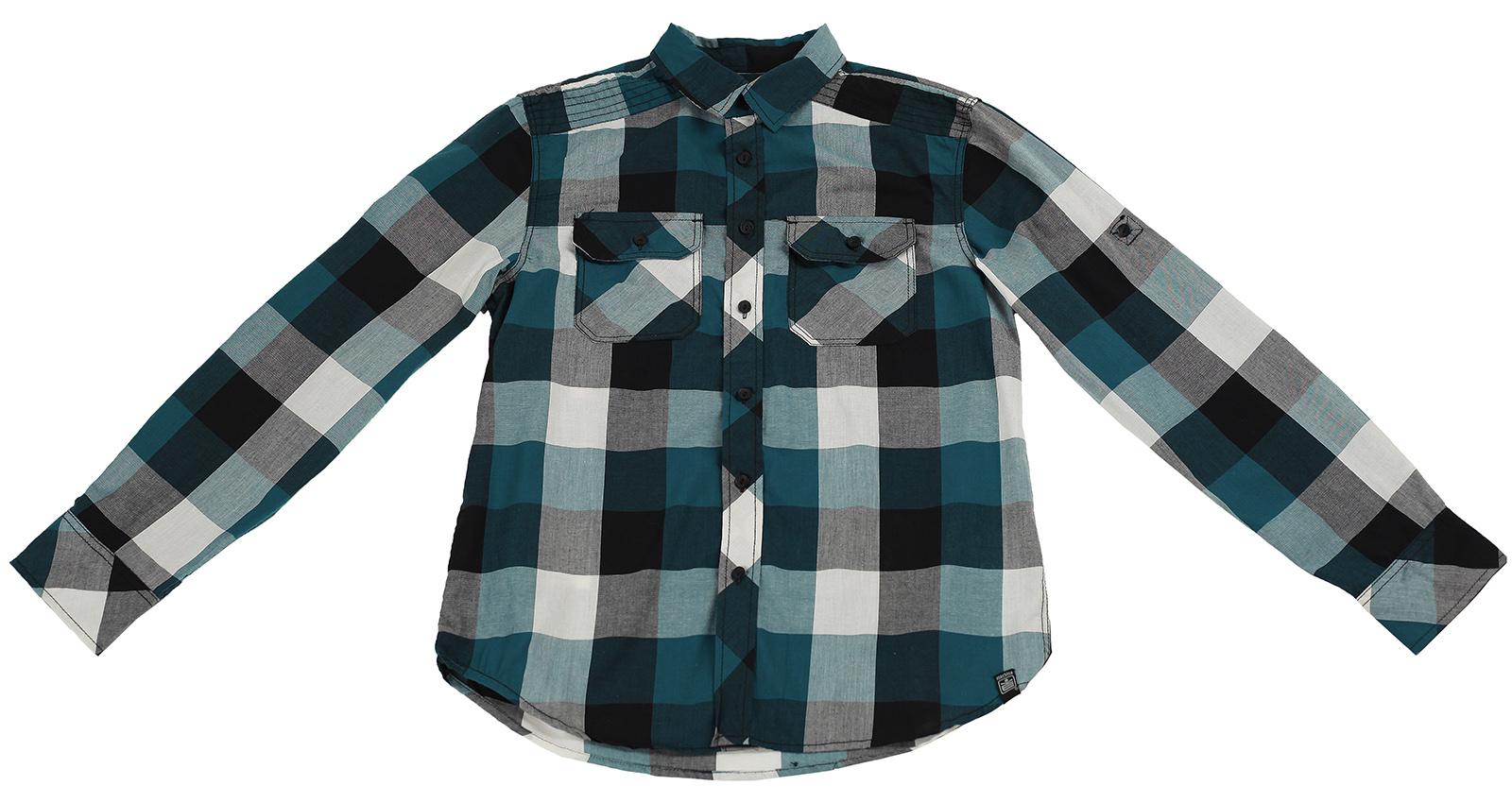 Клетчатая рубашка из натуральной ткани от Machine для мужчин с характером
