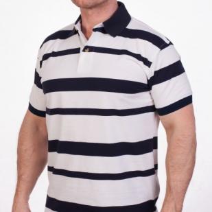 Брендовая футболка поло Aleatory