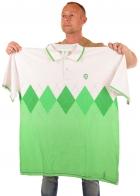 Брендовая футболка поло (батал) от BARE FOX