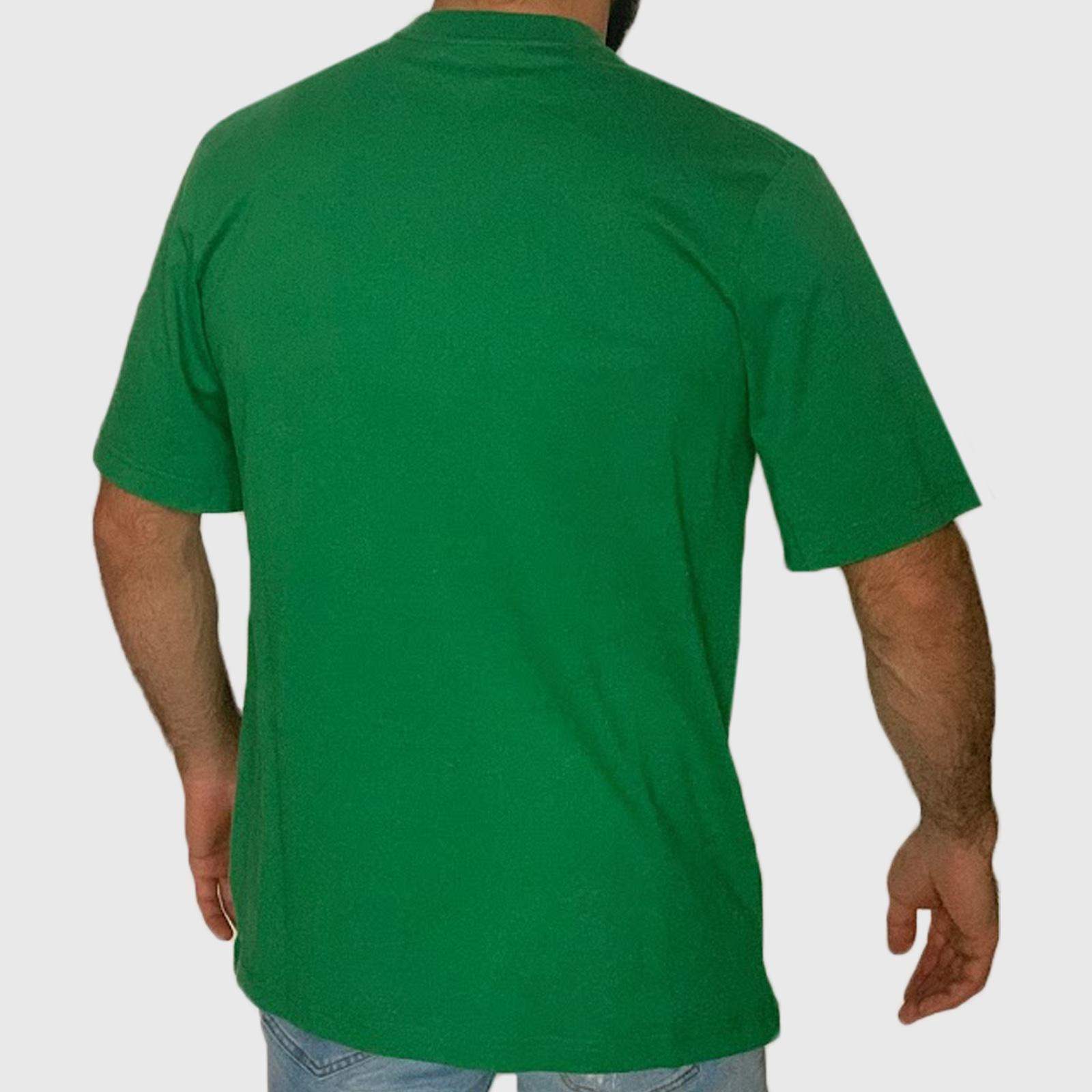 Мужская брендовая футболка Sean John зеленого цвета
