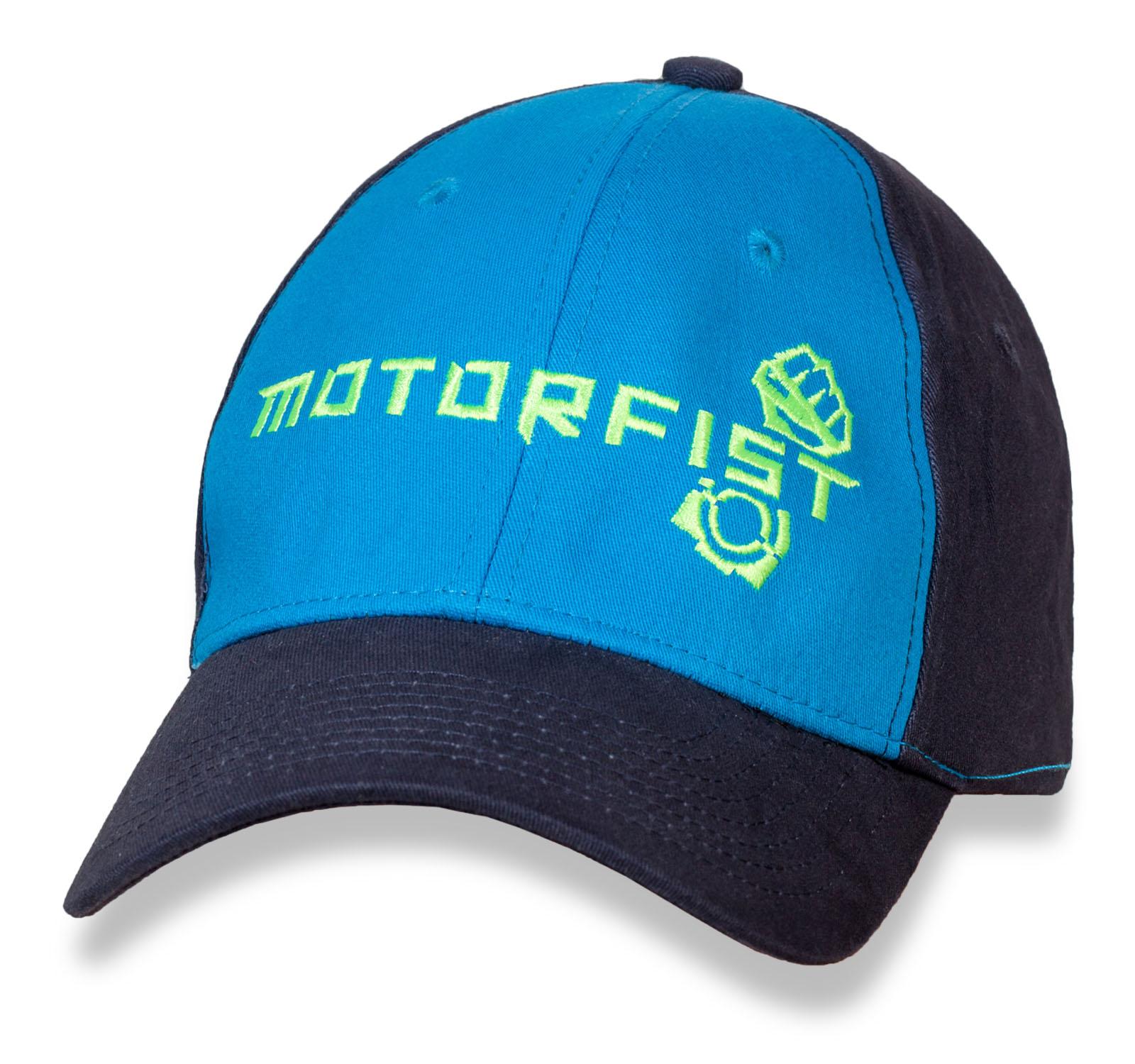 Брендовая кепка-бейсболка от MOTORFIST.