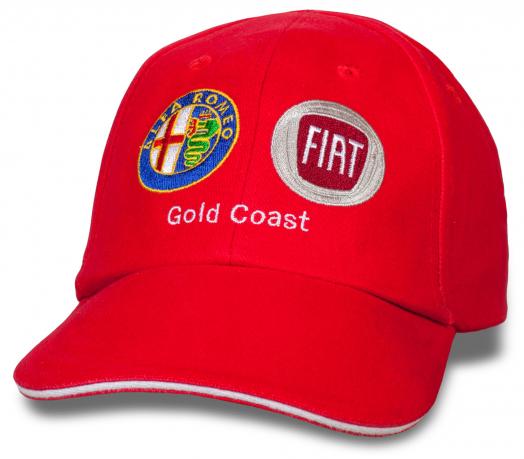Яркая бейсболка Gold Coast Alfa Romeo & Fiat