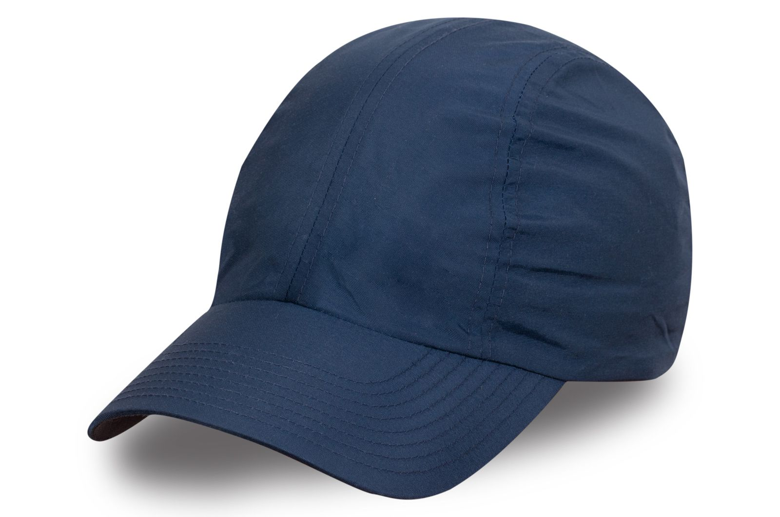 Брендовая кепка синяя