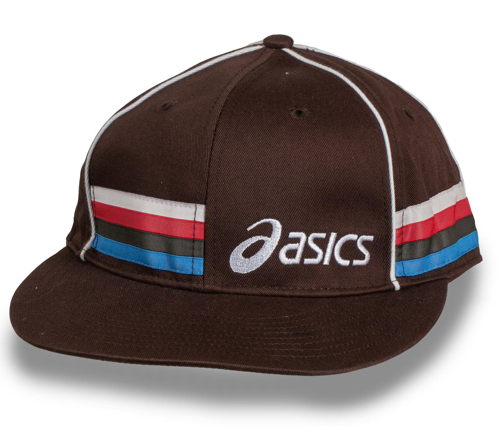 Брендовая кепка снепбек ASICS