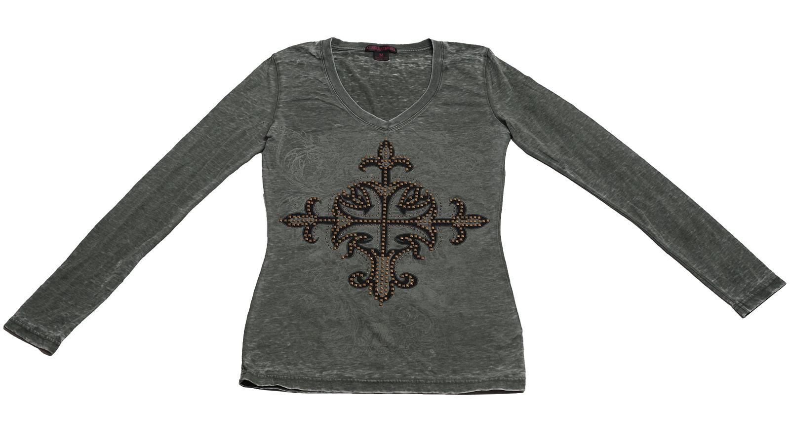 Брендовая кофточка Rock&Roll CowGirl. Мягкая ткань, удобный покрой, модный дизайн