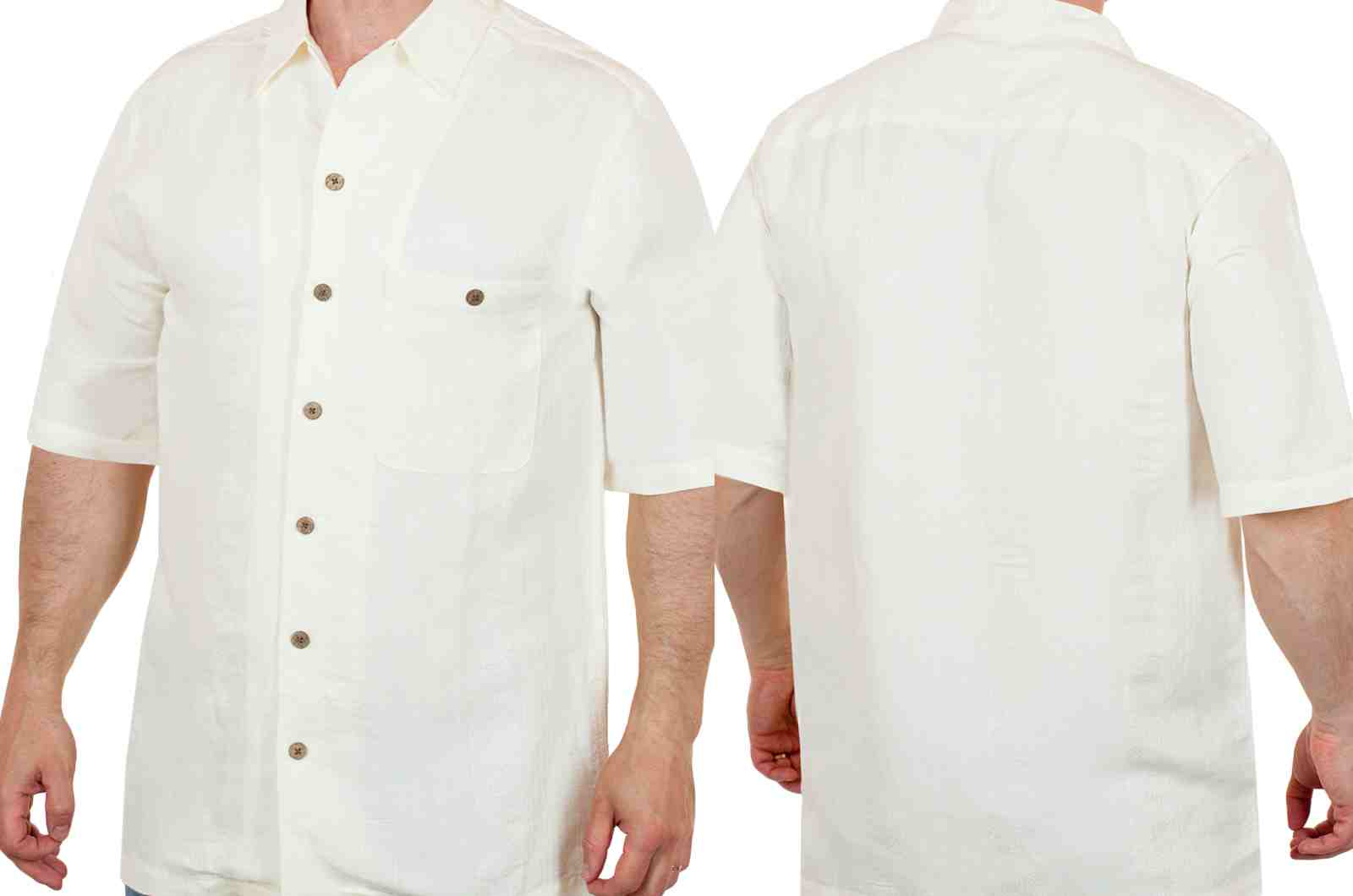 Брендовая летняя рубашка Caribbean Joe (США) для настоящих мужчин-двойной ракурс