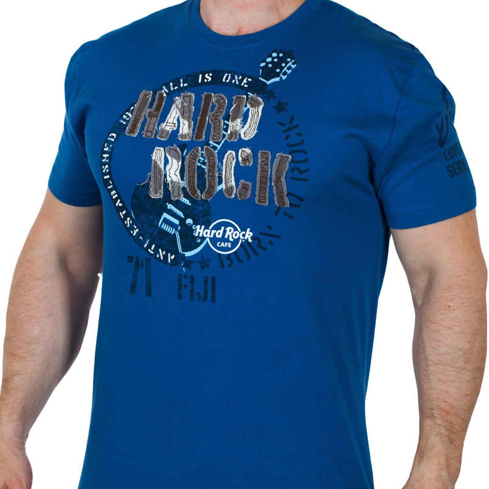 Брендовая мужская футболка Hard Rock® Fiji-вид спереди