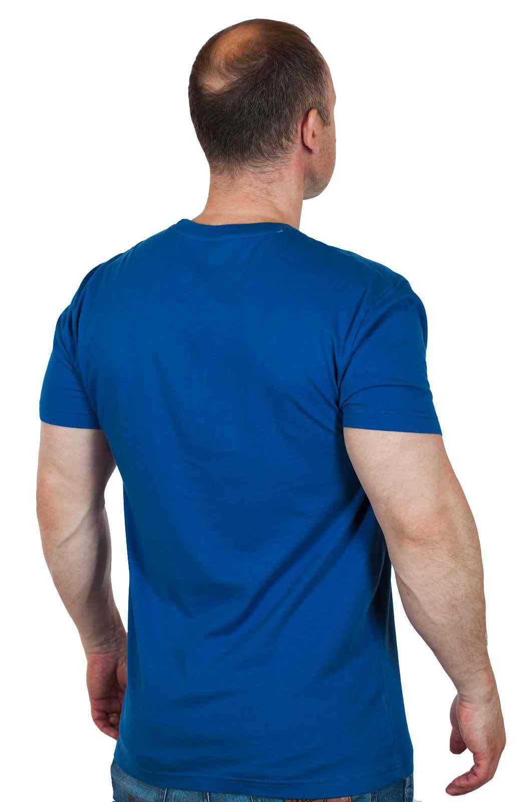 Брендовая мужская футболка Hard Rock® Fiji-вид сзади