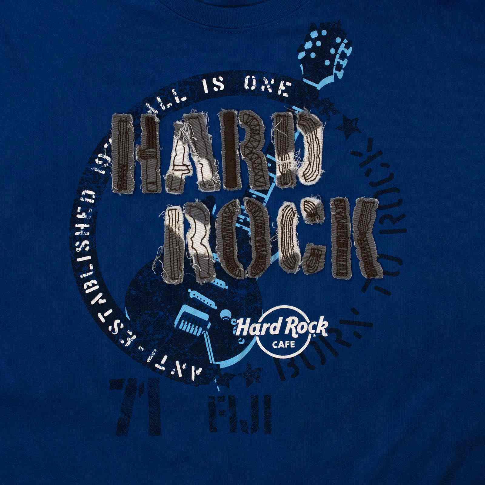 Брендовая мужская футболка Hard Rock® Fiji-увеличение