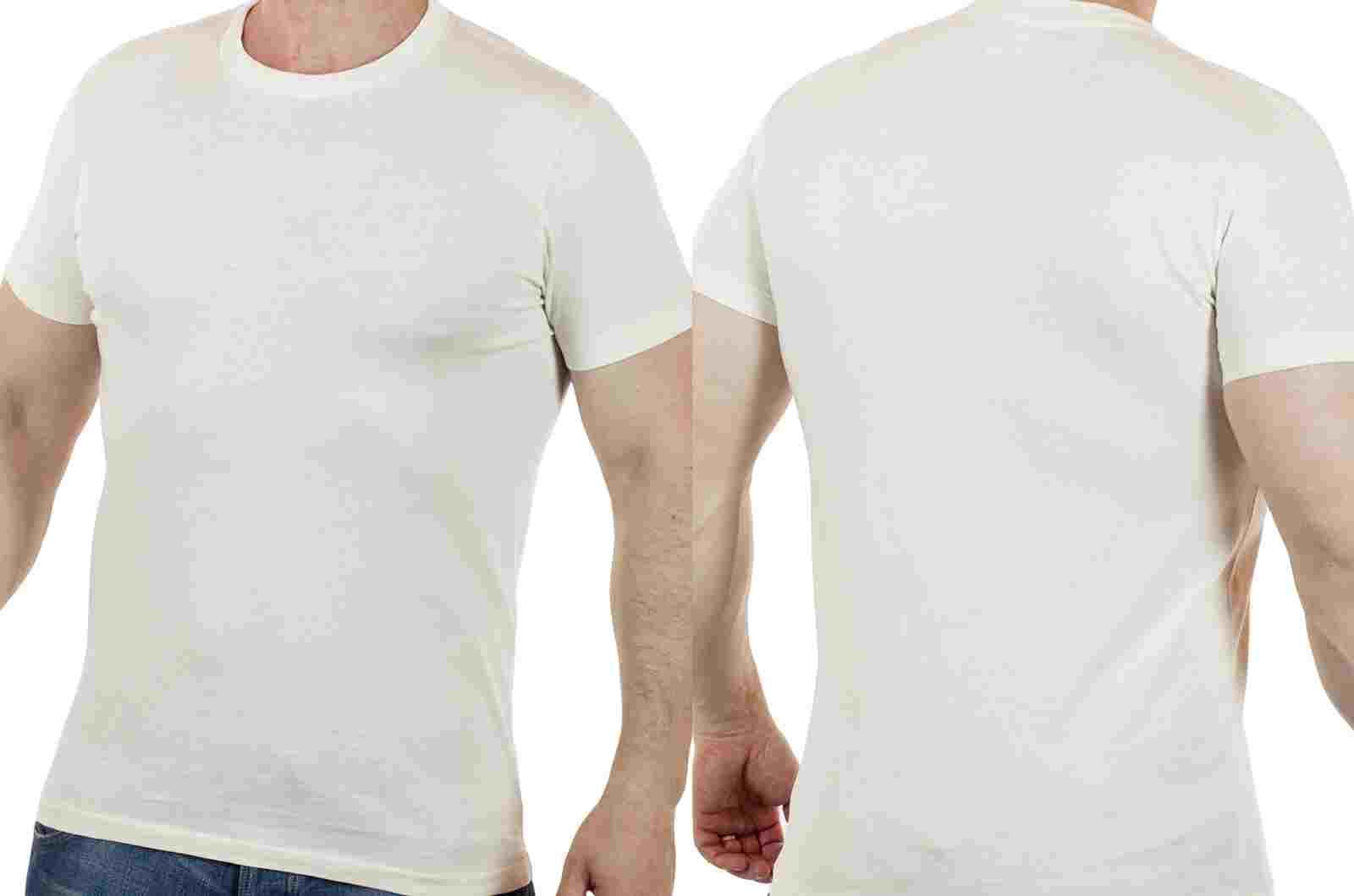 Брендовая мужская футболка Muscle (США)-двойной ракурс