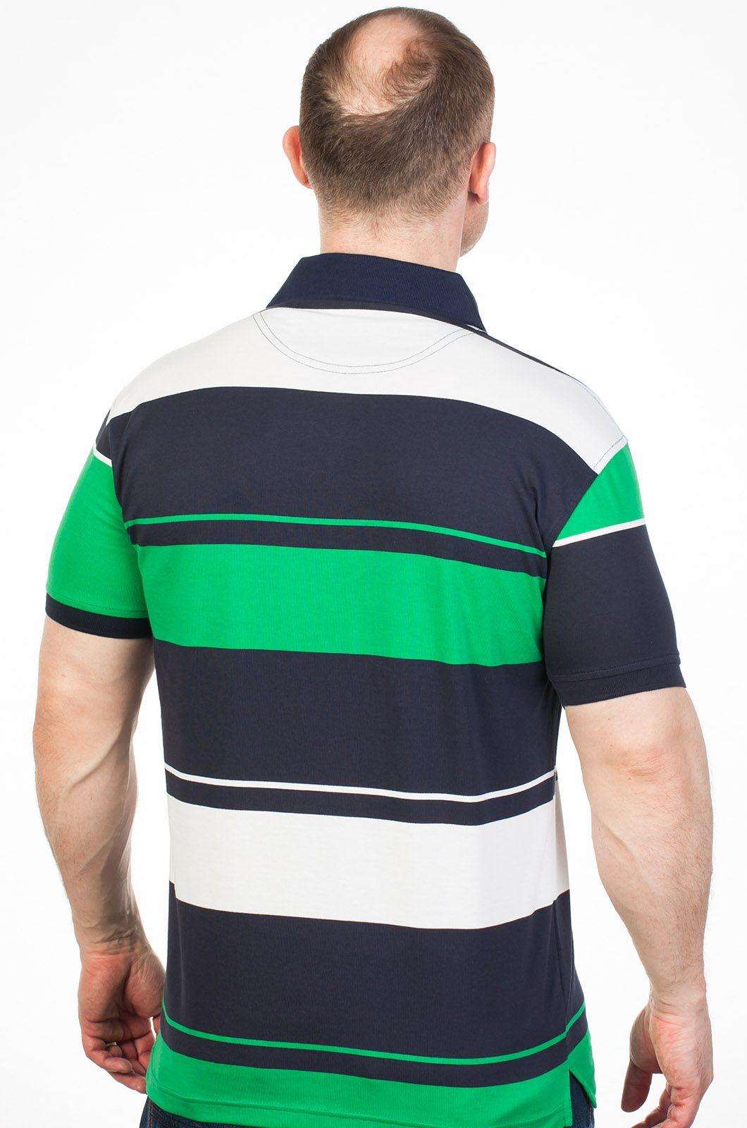 Брендовая мужская футболка Поло - купить онлайн