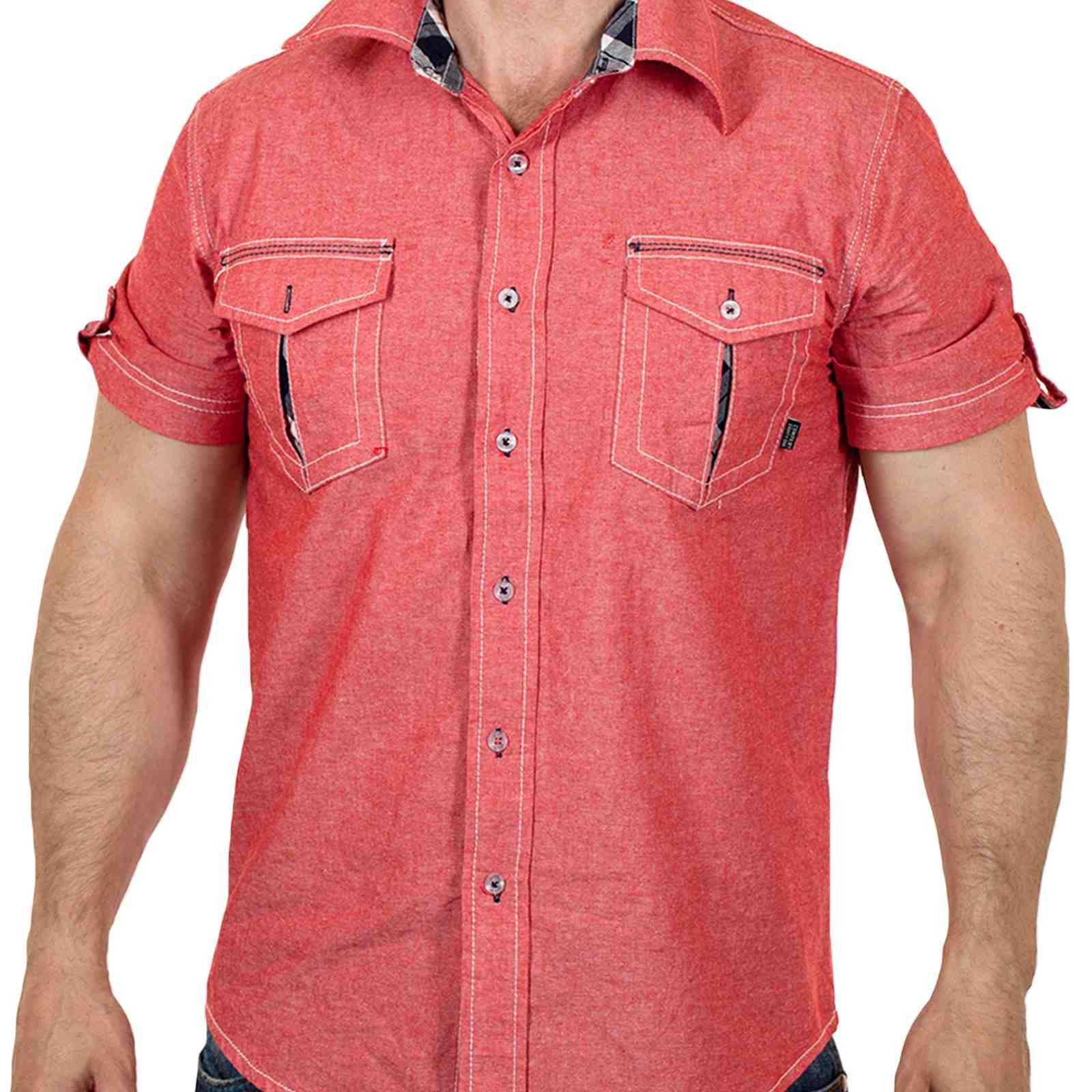 Брендовая мужская рубашка на лето