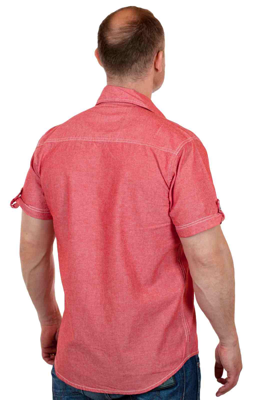 Брендовая мужская рубашка на лето с доставкой