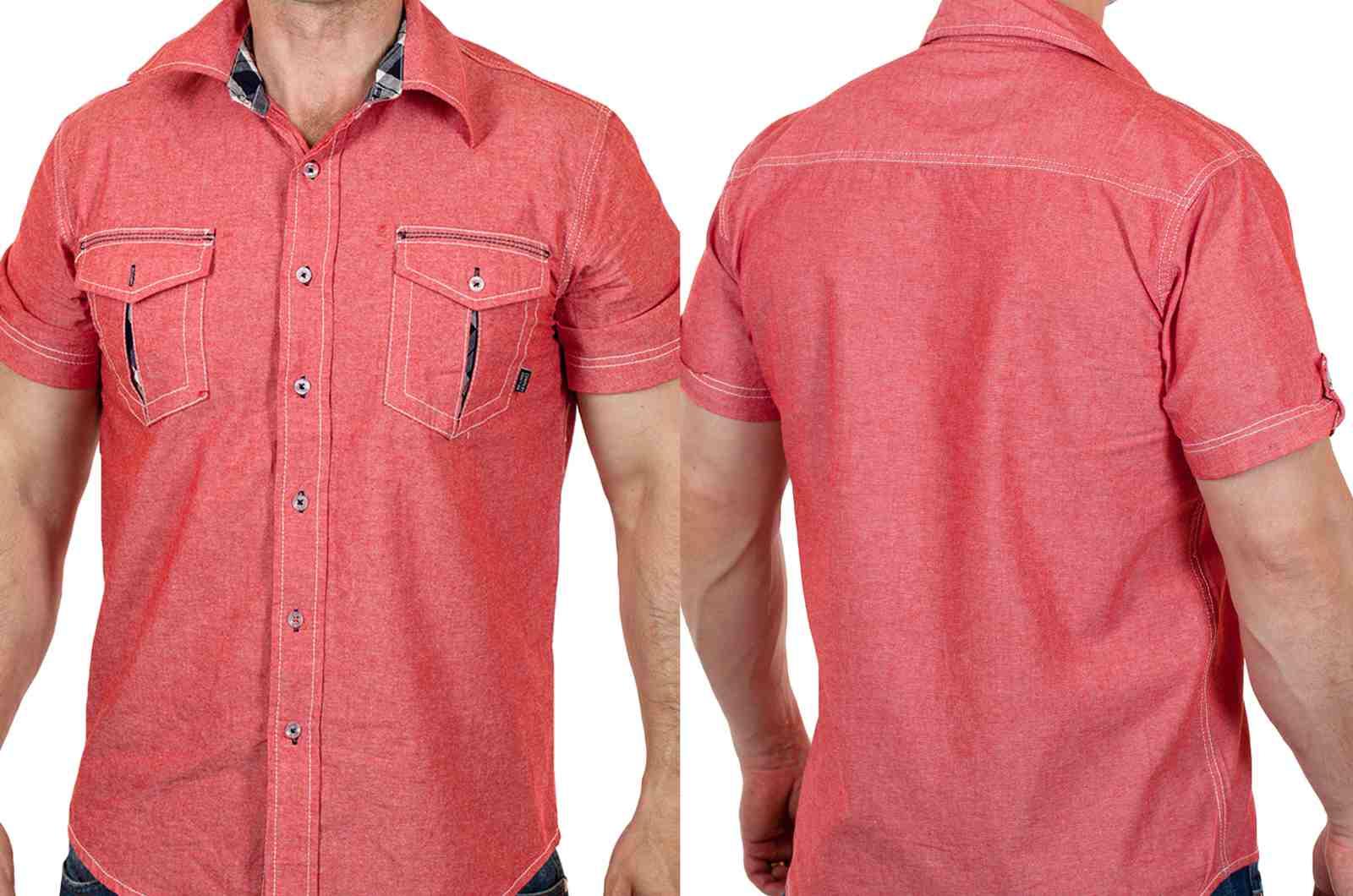 Брендовая мужская рубашка на лето от Военпро