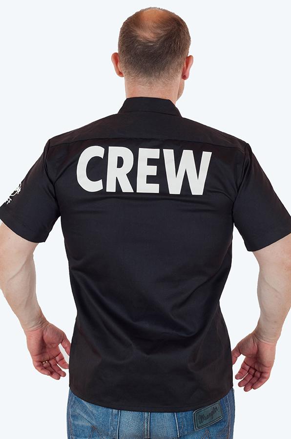 Брендовая мужская рубашка в стиле Hard Rock с доставкой