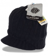 Брендовая мужская шапка-кепка на флисе от Kombi Sports