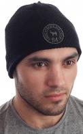 Брендовая флисовая мужская шапка от Kingsley Heath