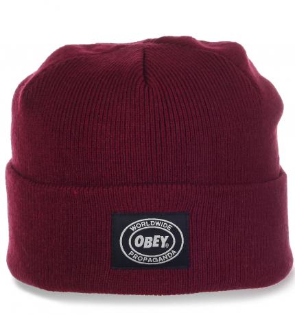 Брендовая мужская шапка в стиле Casual от Obey