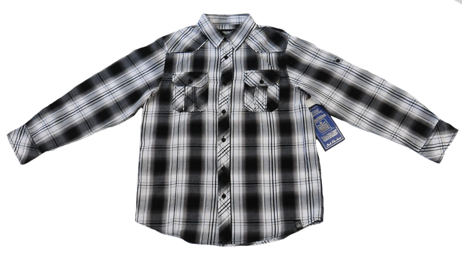 Брендовая рубашка для подростков Machine-вид спереди