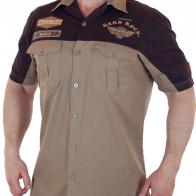 Хлопковая мужская рубашка Hard Rock Cafe.
