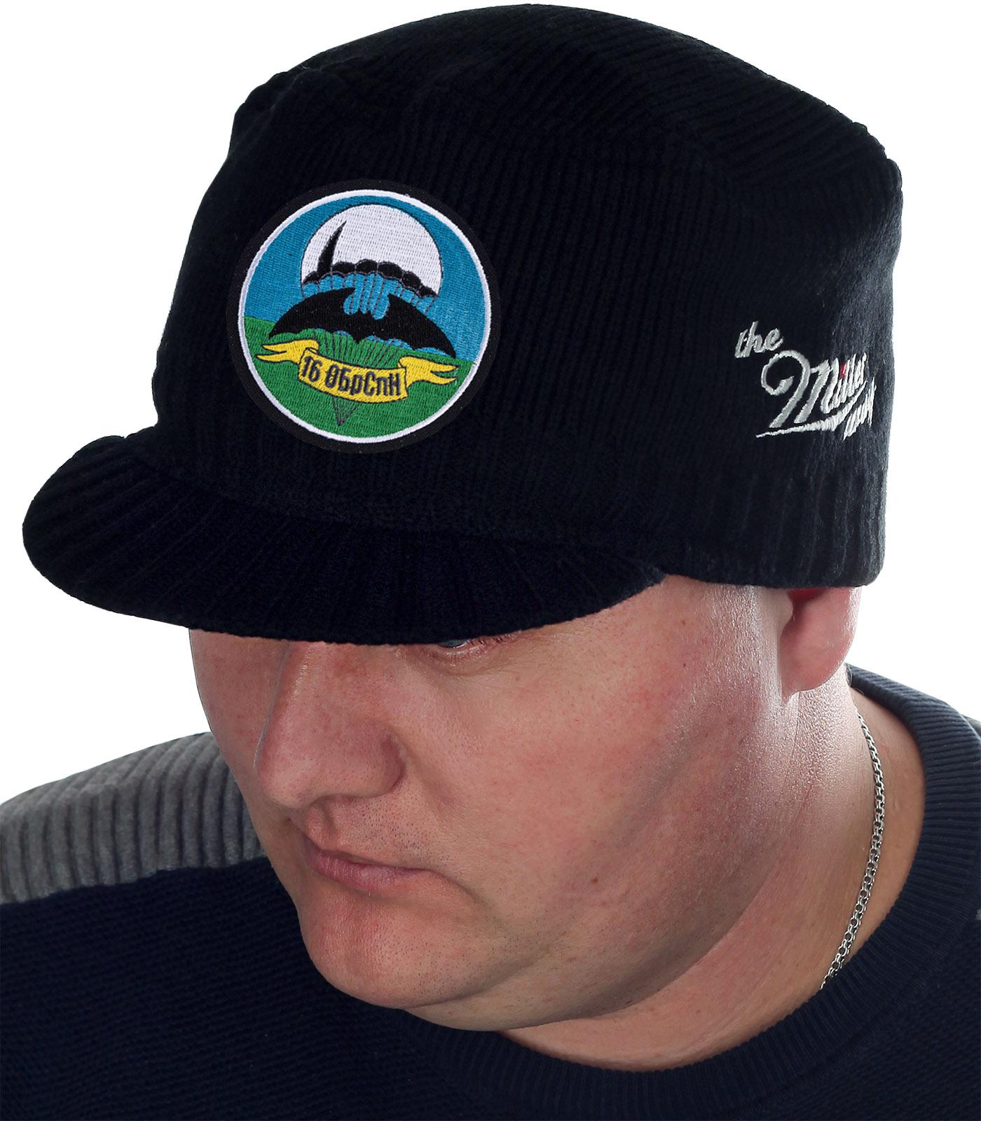 """Брендовая шапка-кепка Miller Way с нашивкой """"16 ОБрСпН"""""""