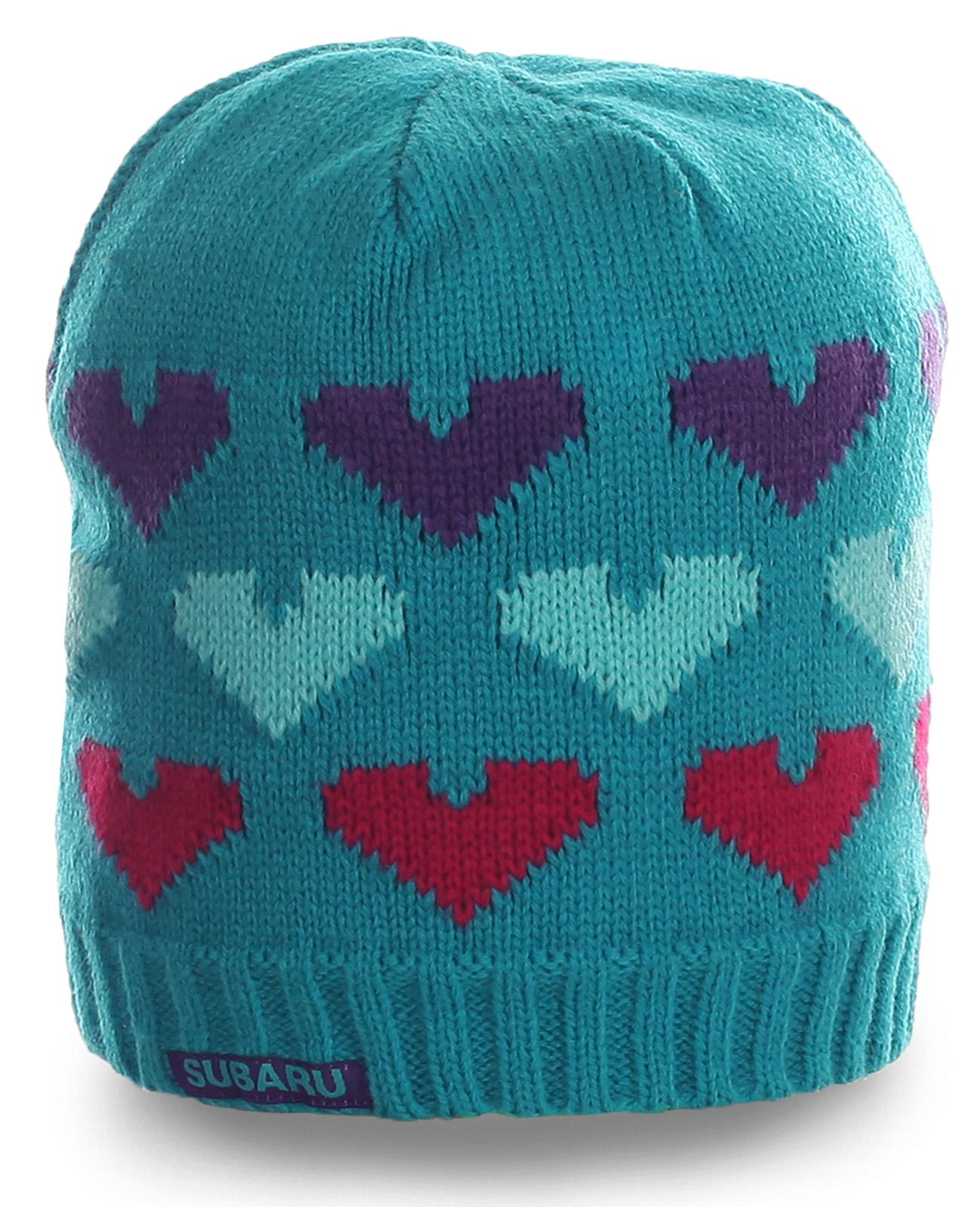 Брендовая великолепная женская шапка SUBARO нежного цвета