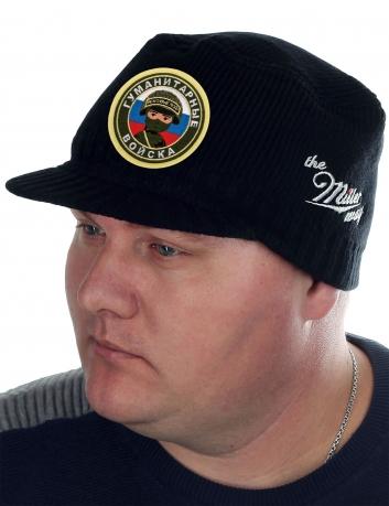 Брендовая вязаная шапка-кепка от Miller Way - купить выгодно