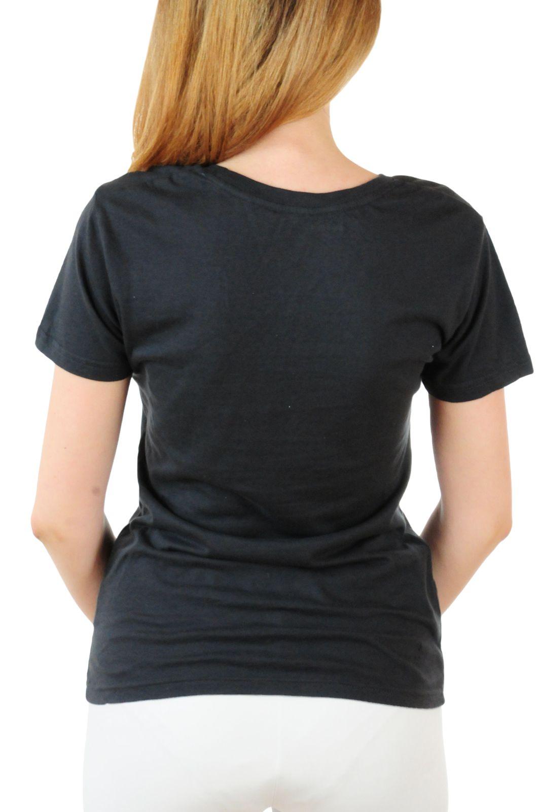 Брендовая женская футболка Hard Rock® Chicago - вид сзади