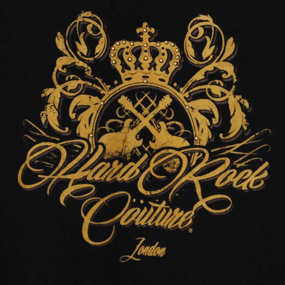 Брендовая женская футболка Hard Rock® London - КОЛЛЕКИЯ COUTURE - принт спереди