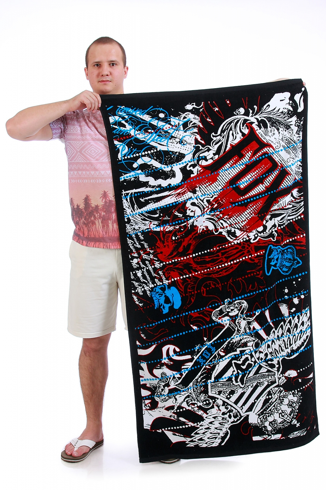 Брендовое универсальное полотенце со скидкой