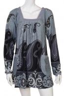 Брендовое расклешенное платье от Pistachio