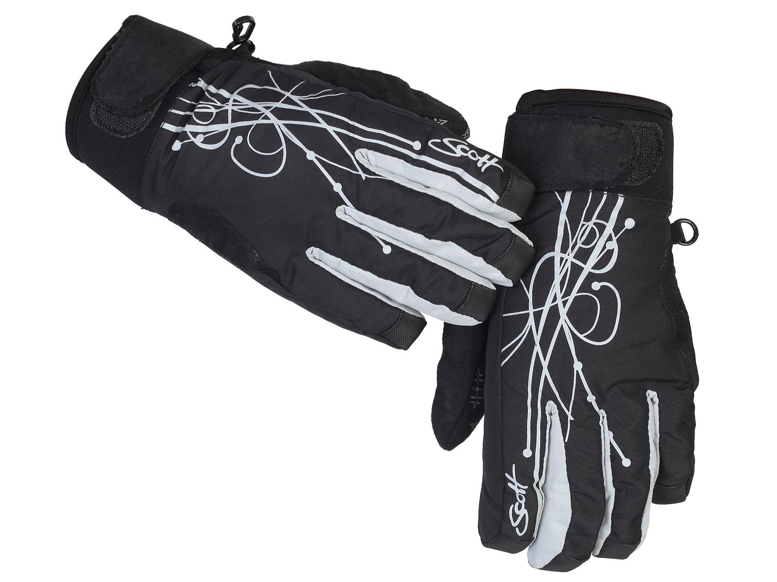 Брендовые перчатки Scott для лыж, сноуборда и на каждый день