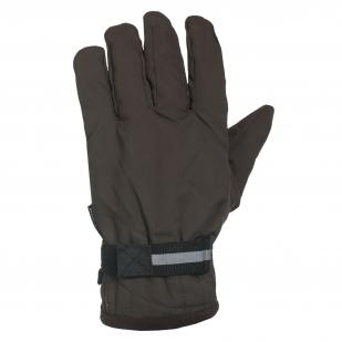 Брендовые перчатки цвета хаки