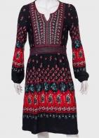 Купить броское платье с ярким принтом от бренда Lord Kitsch