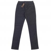 Стильные женские брюки Pieces в мелкий горошек.