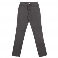 Серые женские брюки Pieces с принтом.