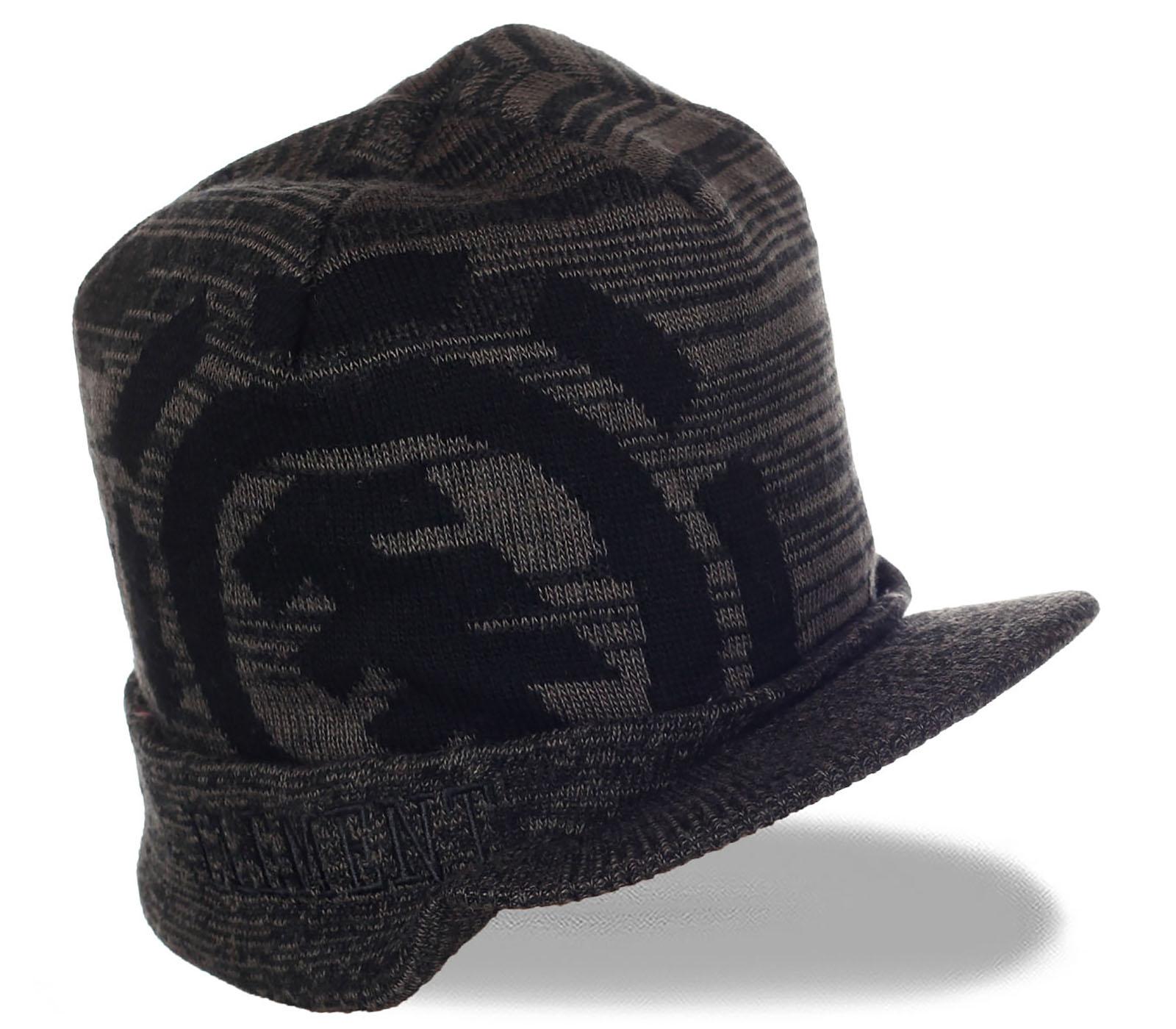 Брутальная шапка-кепка с козырьком от ELEMENT