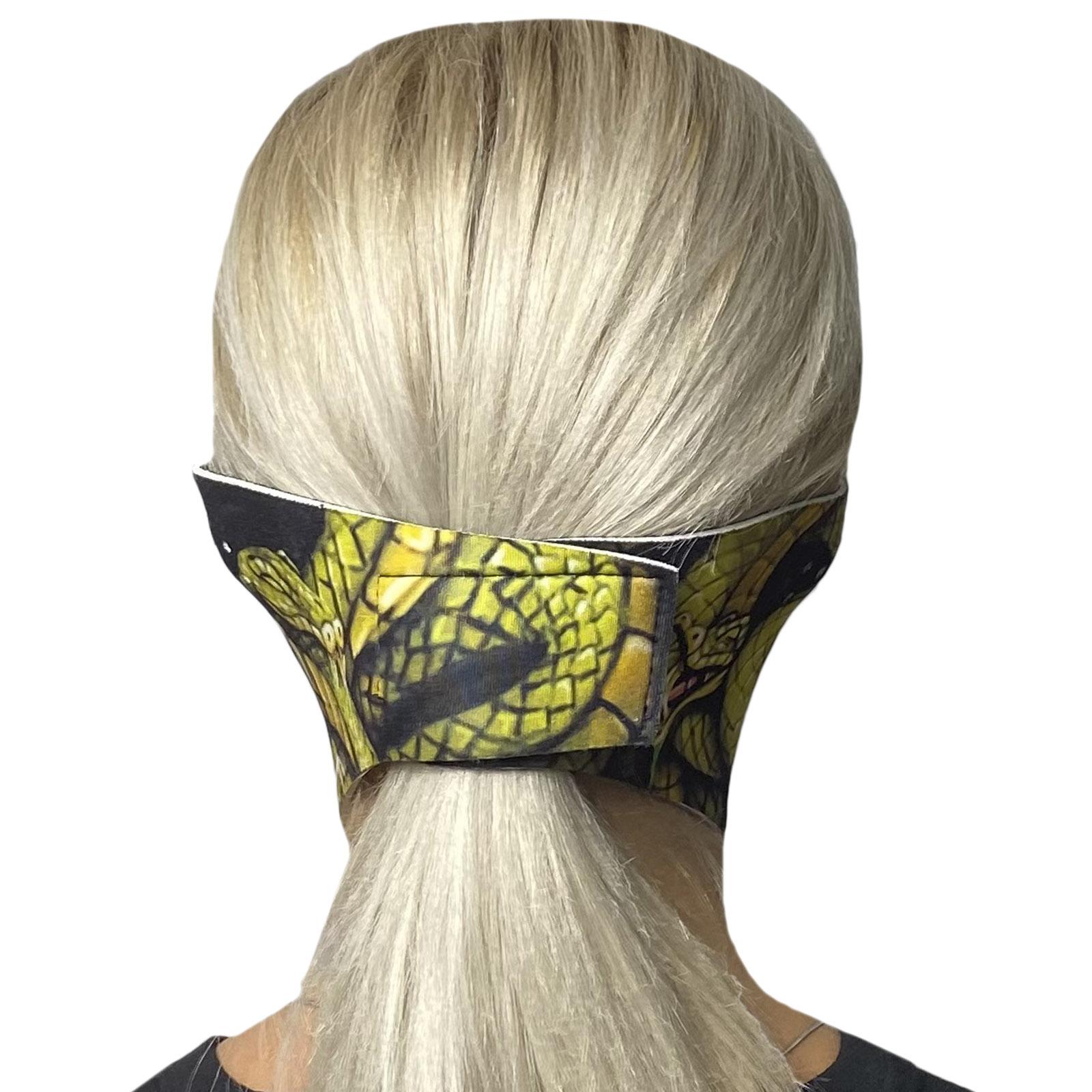 Брутальная стильная маска Wild Wear Serpent с защитой от вирусов