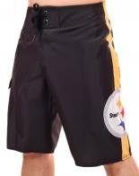 Брутальные бордшорты NFL Pittsburgh Steelers. Для настоящих мужчин