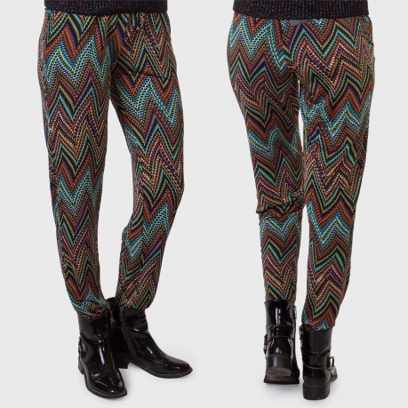 Casual-шик от Luca Tonolli. Стильные женские брюки со свободными бедрами.