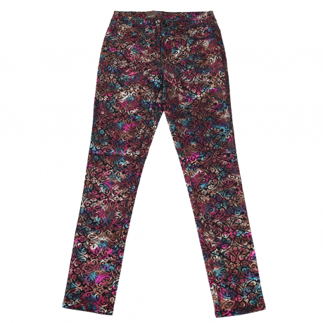 Модные женские брюки Pieces с отливом.