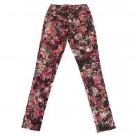 Брендовые женские брюки Pieces с фантазийным принтом.