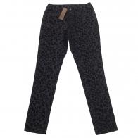 Женские брюки Pieces с леопардовым принтом.