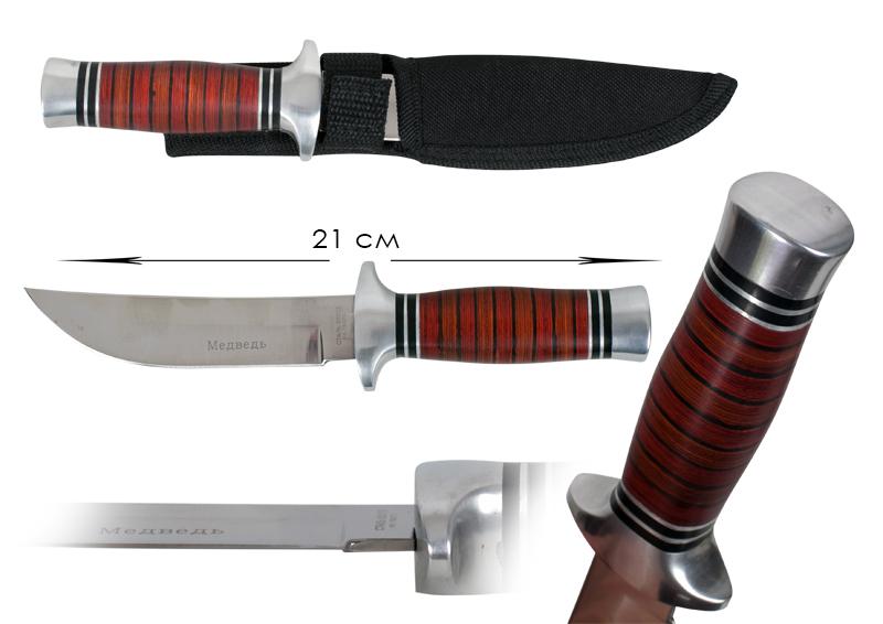 Булатный нож «Медведь» (№95)