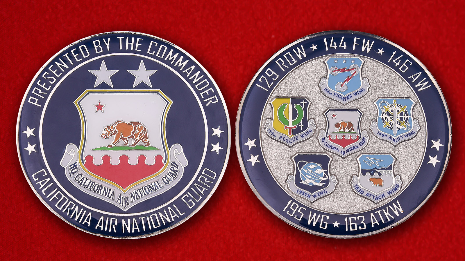 California Air National Guard Challenge Coin