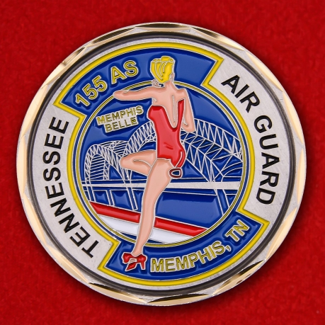 Challenge Coin 155 Squadron Air Transport