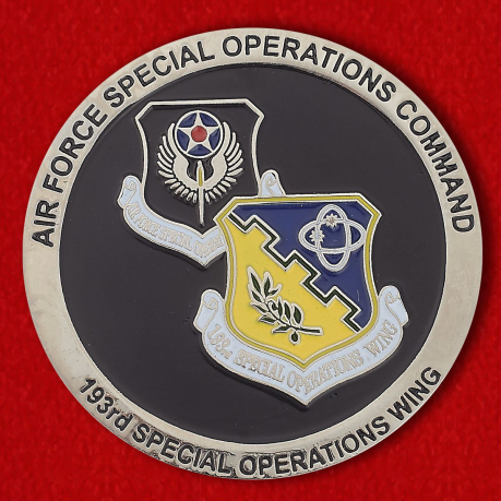 "Challenge Coin ""193rd Special Operations Wing"""