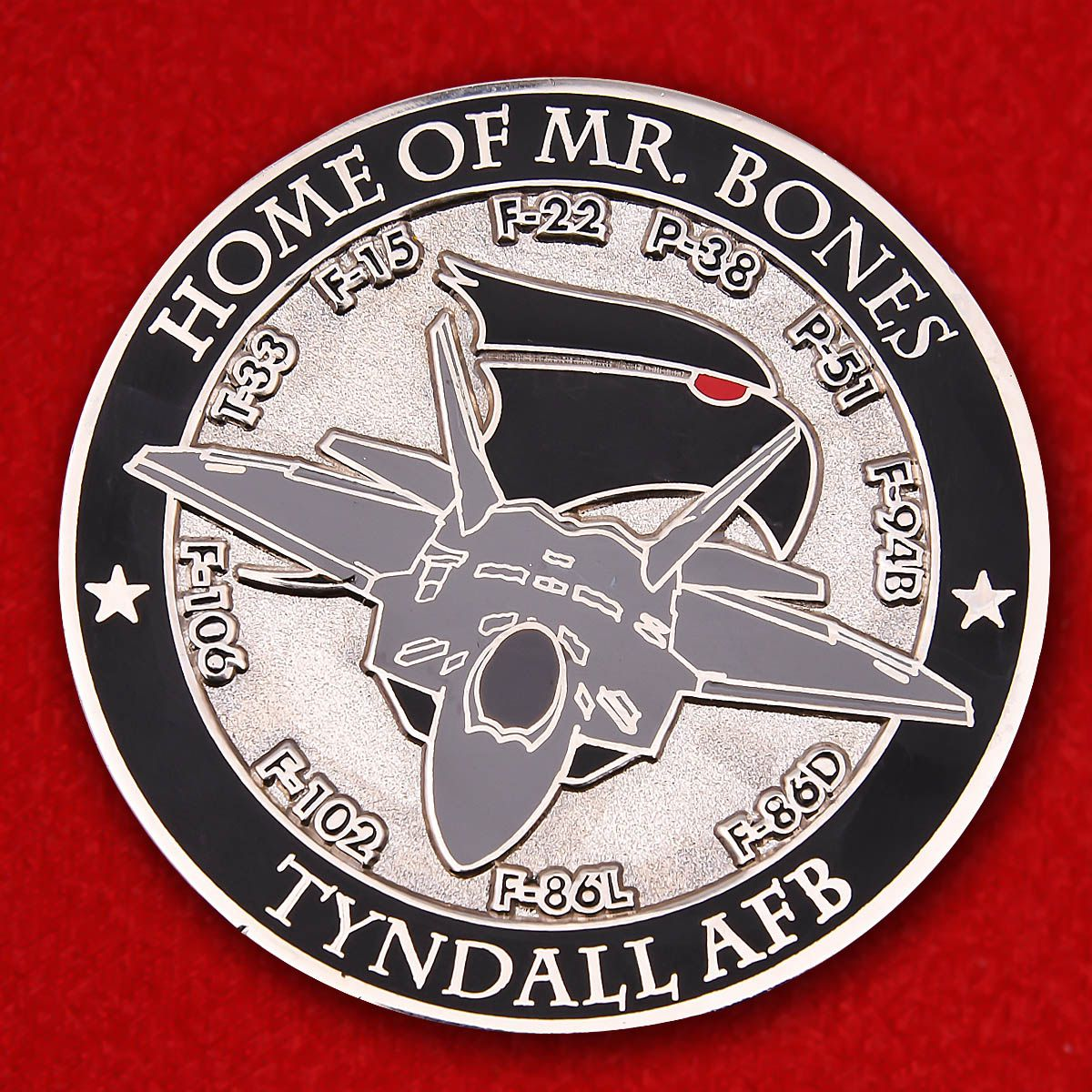 "Challenge Coin ""95th Fighter Squadron"""