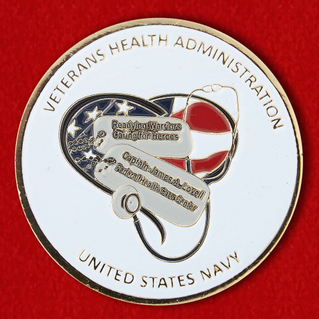 "Challenge Coin ""Captain James A. Lovell Federal Health Care Center"""