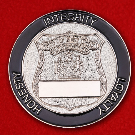 Challenge Coin Department of Corrections in New York City